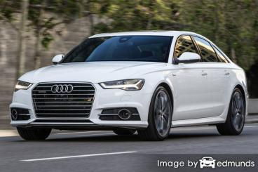 Insurance rates Audi A6 in Chula Vista