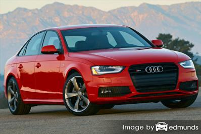 Insurance quote for Audi S4 in Chula Vista