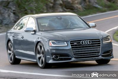 Insurance rates Audi S8 in Chula Vista