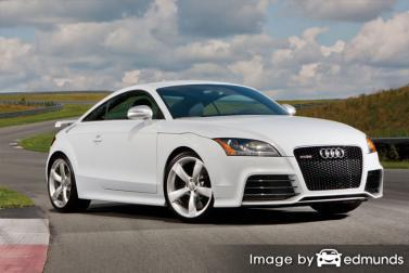 Insurance quote for Audi TT RS in Chula Vista