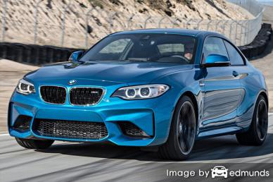 Insurance rates BMW M2 in Chula Vista