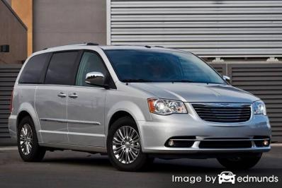 Insurance quote for Chrysler Town and Country in Chula Vista