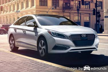 Insurance rates Hyundai Sonata Hybrid in Chula Vista