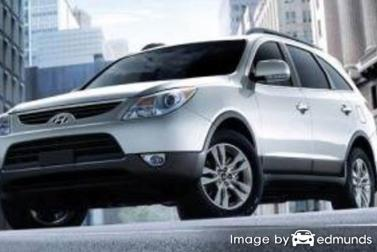 Insurance quote for Hyundai Veracruz in Chula Vista