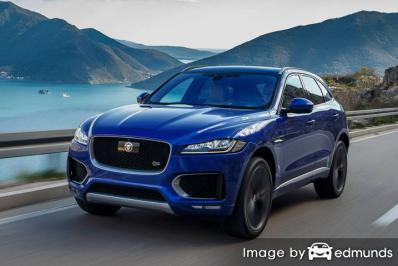 Insurance quote for Jaguar F-PACE in Chula Vista