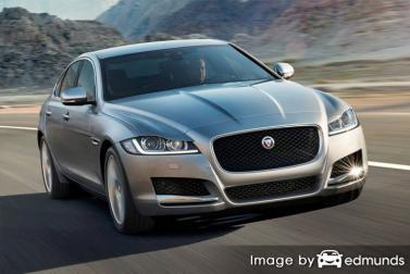 Insurance rates Jaguar XF in Chula Vista