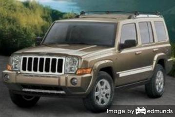 Insurance quote for Jeep Commander in Chula Vista