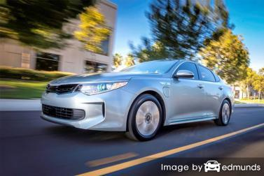 Insurance rates Kia Optima Plug-In Hybrid in Chula Vista