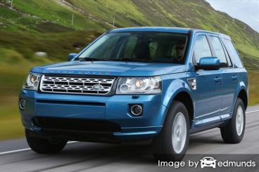 Insurance rates Land Rover LR2 in Chula Vista