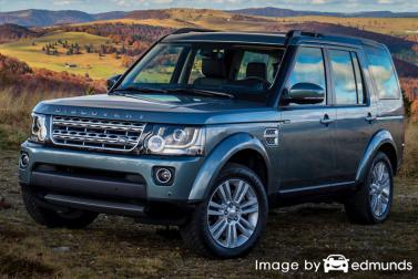Insurance quote for Land Rover LR4 in Chula Vista