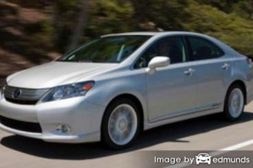 Insurance quote for Lexus HS 250h in Chula Vista