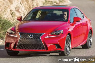 Insurance quote for Lexus IS 200t in Chula Vista