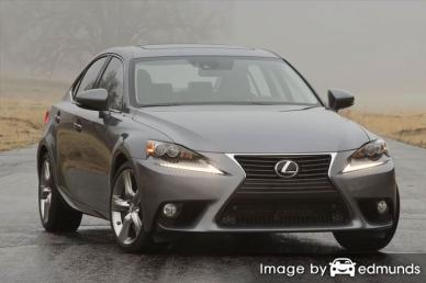 Insurance rates Lexus IS 350 in Chula Vista