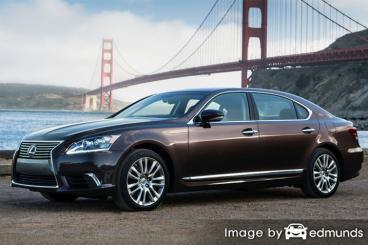 Discount Lexus LS 600h L insurance