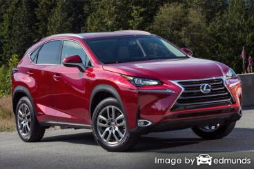 Discount Lexus NX 300h insurance
