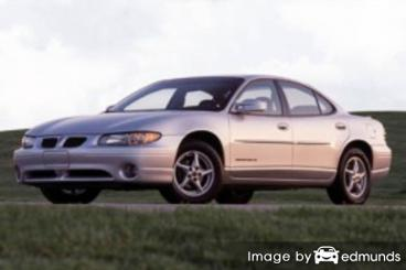 Insurance rates Pontiac Grand Prix in Chula Vista