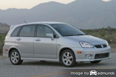 Insurance rates Suzuki Aerio in Chula Vista