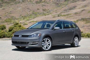 Discount Volkswagen Golf SportWagen insurance