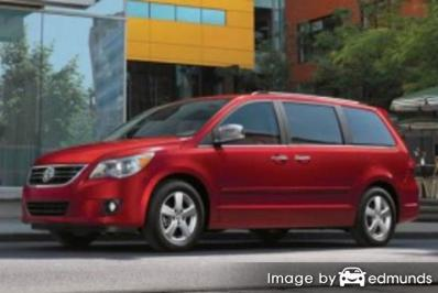 Discount Volkswagen Routan insurance