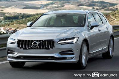 Insurance rates Volvo V90 in Chula Vista
